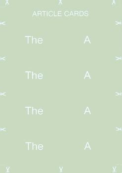Grammar Cards