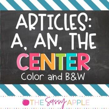 Grammar Center: Articles