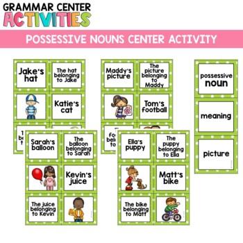 Grammar Center: Possessive Nouns