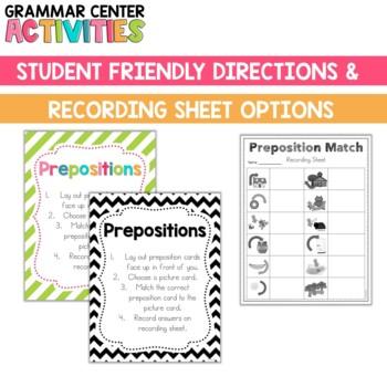 Grammar Center: Prepositions