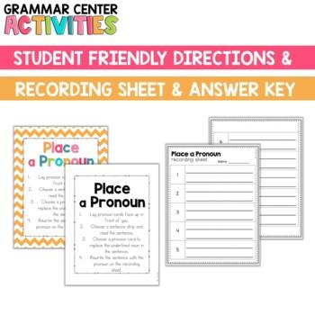 Grammar Center: Pronouns