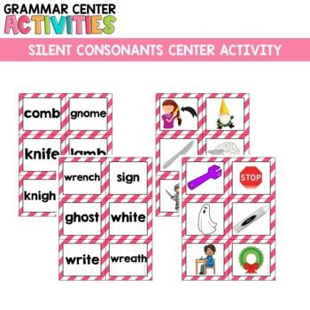 Grammar Center: Silent Consonants
