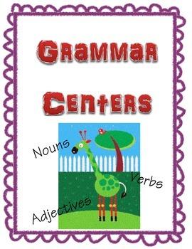 Grammar Centers