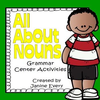 Nouns:  Grammar Centers and Activities