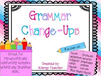 Grammar Change-Ups