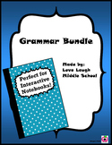 Grammar Cheat Sheet Bundle
