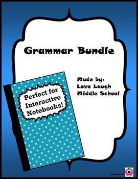 Grammar Cheat Sheet Bundle