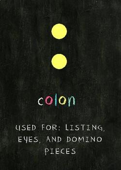 Grammar Colon Poster