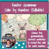 Grammar Color By Number (Easter)