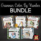 Grammar Color By Number GROWING BUNDLE