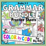 Grammar Coloring Pages Bundle
