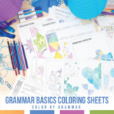 Color by Grammar: Grammar Activities for Younger Students