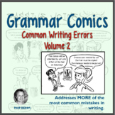 Sentence Problems -MORE Common Writing Mistakes: Grammar Comics