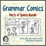 Parts of Speech Bundle: Grammar Comics | Nouns, Verbs, Adjectives, Adverbs, etc.