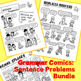 Common Writing Mistakes Bundle: Grammar Comics