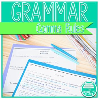 Grammar: Comma Rules