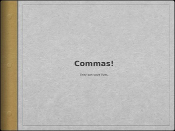 Grammar - Commas