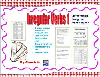 Irregular Verbs - Verbs