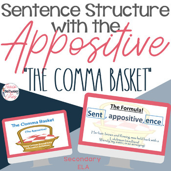 Grammar - Digital Sentence Structure Unit Bundle - Understanding Commas!