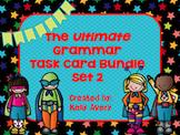 Grammar Task Card Bundle Set 2