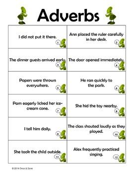 Grammar Unit 5, Adjectives and Adverbs