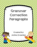 Grammar Correction Paragraphs