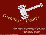 Grammar Court: Episode 1. A fun Grammar activity & game about homophones & more!