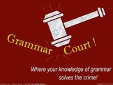 Grammar Court: Episode 1. A fun Grammar activity & game about homophones & more!
