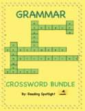 Grammar Crossword Puzzle Bundle (Distance Learning)