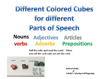 Grammar Cubes