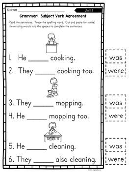 Grammar Cut & Paste