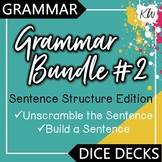 Sentence Structure: Build A Sentence & Unscramble the Sentence Games