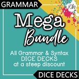 9 Grammar Games: Verb Tense, Plural Nouns, Pronouns, Sentence Structure BUNDLE