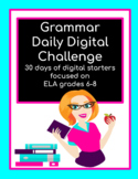 Grammar Daily Digital Challenge