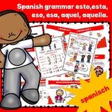 Grammar Demostratives in spanish (este,esta,estos,ese,esas