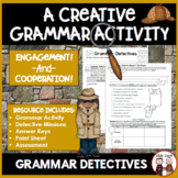 Grammar Detectives Bundle of Activities
