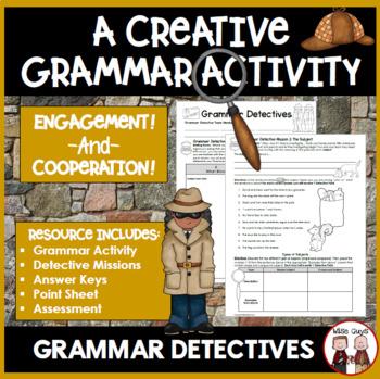 Grammar Bundle Featuring Nouns Verbs Adjectives and More