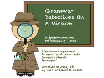 Grammar Detectives on a Mission