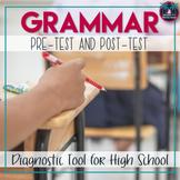Grammar Diagnostic Assessment Pre-Test and Post-Test Digital and Print