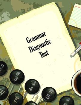 Grammar Diagnostic Test