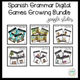 Grammar Digital Games Bundle in Spanish