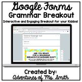 Grammar (Digital) Scavenger Hunt- Perfect for Distance Learning