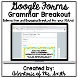 Grammar (Digital) Scavenger Hunt- Perfect for Distance Learning