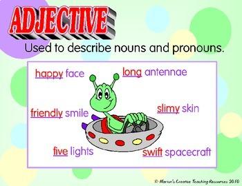 Grammar Display Anchor Charts {Australian Version}