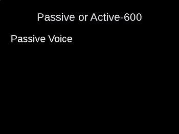 Grammar Double Jeopardy-Participles, Infinitives, Gerunds, Active Voice, Roots