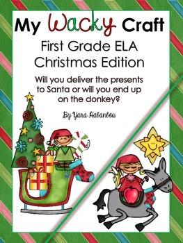 Grammar ELA Craft {My Wacky Craft First Grade Christmas Edition}