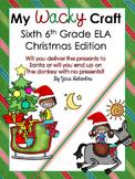 Grammar ELA Craft {My Wacky Craft Sixth Grade Christmas Edition}