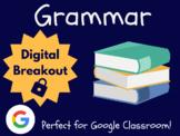 Grammar (ELA Test Prep) - Digital Breakout! (Escape Room, Distance Learning)