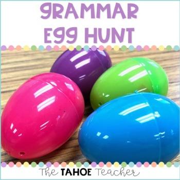 Grammar Easter Egg Hunt