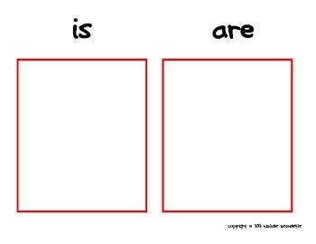 Grammar Elves: Is/Are Sort